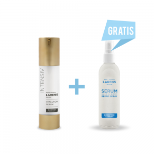 Wellu Larens Hyaluron Serum 50ml + Serum Hair & Body Repair Spray 100ml GRATIS HSSHB2