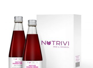 Wellu Nutrivi Peptide Power Drink 2 x 300 ml NPPDCH2x330