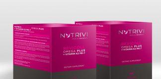 Wellu Nutrivi Revicoll Omega Plus + Vitamin K2MK7 2 x 60 NROPK2CH2x60