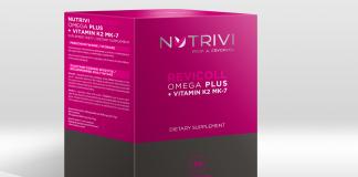 Wellu Nutrivi Revicoll Omega Plus + Vitamin K2MK7 30 NROPK2CH30