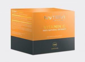 Wellu Nutrivi Vitamin C 100 kapsułek VCCH100