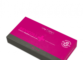 Revicoll Omega Plus + Vitamin K2MK7 60 NROPK2CH60 new