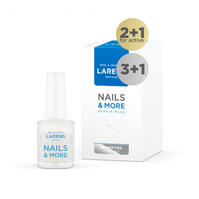 Nails & More Repair Mask 16ml 3plus1 gratis