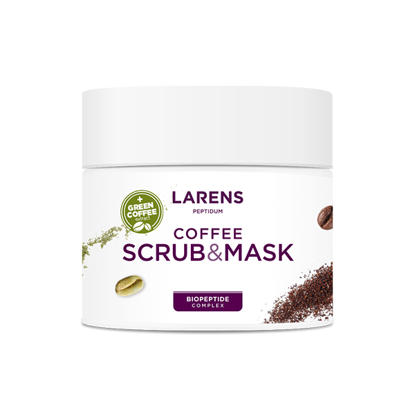 Larens Coffee Scrub & Mask 200 ml New formula
