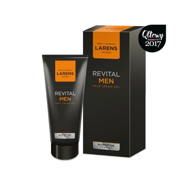 Larens Revital Men Face Cream Gel 50 ml - vitalmania.pl - vitalmania.eu