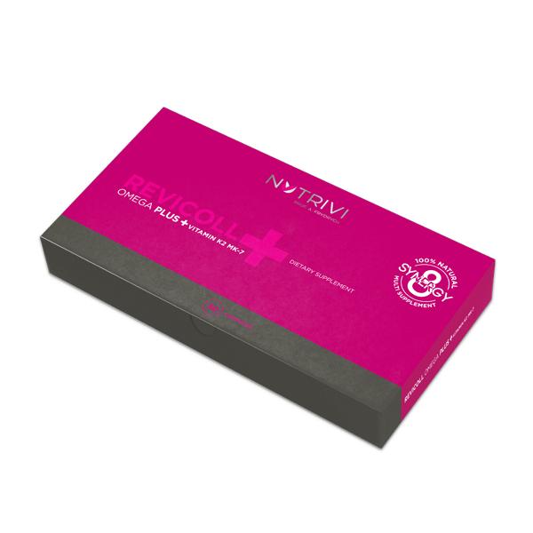 Revicoll Omega Plus + Vitamin K2MK7 30 NROPK2CH30 new