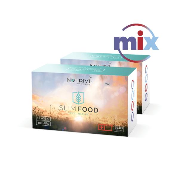 slim food 2x18 batonow